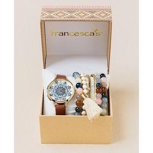 Boho Watch and Bracelet Set